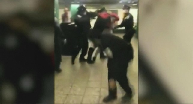 NYPD under fire after video of mom's arrest goes viral. Her 'crime'? She reportedly refused to properly cover her face.
