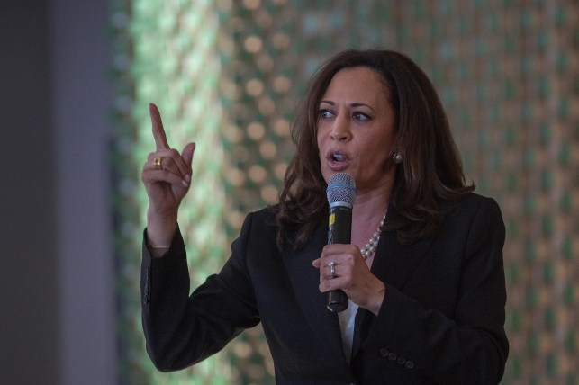 Kamala Harris accuses Trump of using the words of a 'dictator' in speech against riots, says 'dominate' is one of those words