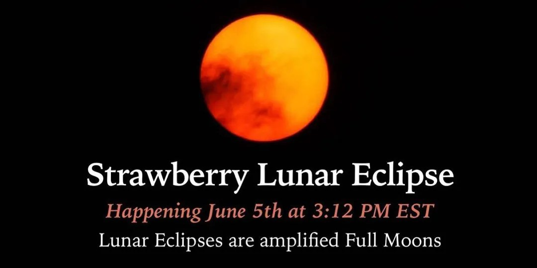 Full Moon Lunar Eclipse – June 5th 2020 - Higher Perspective