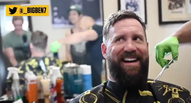 Steelers QB Ben Roethlisberger goes to the barber — and Democratic Gov. Tom Wolf is not happy about it