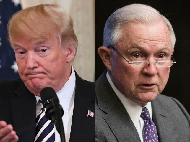 President Trump continues pummeling Jeff Sessions, but this time he punches back