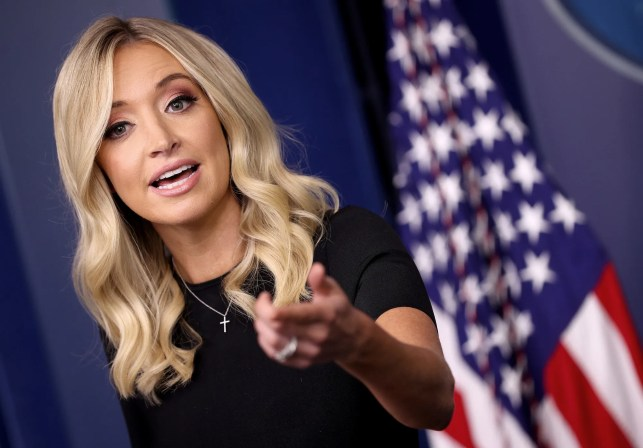 Kayleigh McEnany shuts down reporter asking how many dead Americans should be considered a coronavirus success