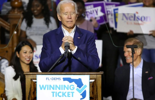 Joe Biden campaign is 'suppressing the Hispanic vote' in Florida says ... group of nearly 100 Democratic organizers