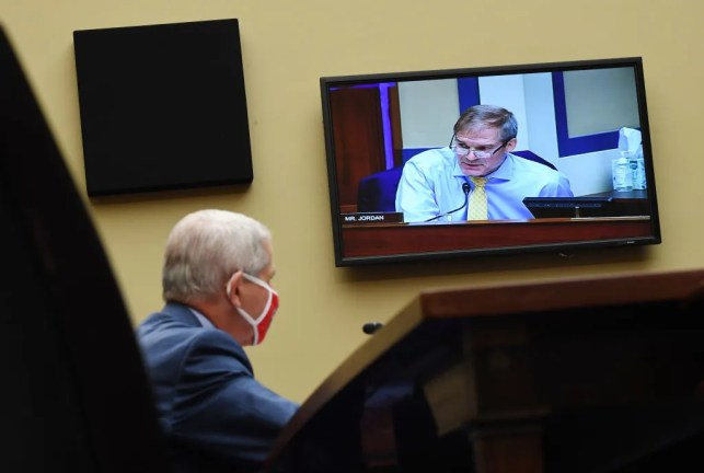 Rep. Jim Jordan grills Dr. Fauci on impact of protests during the COVID-19 pandemic