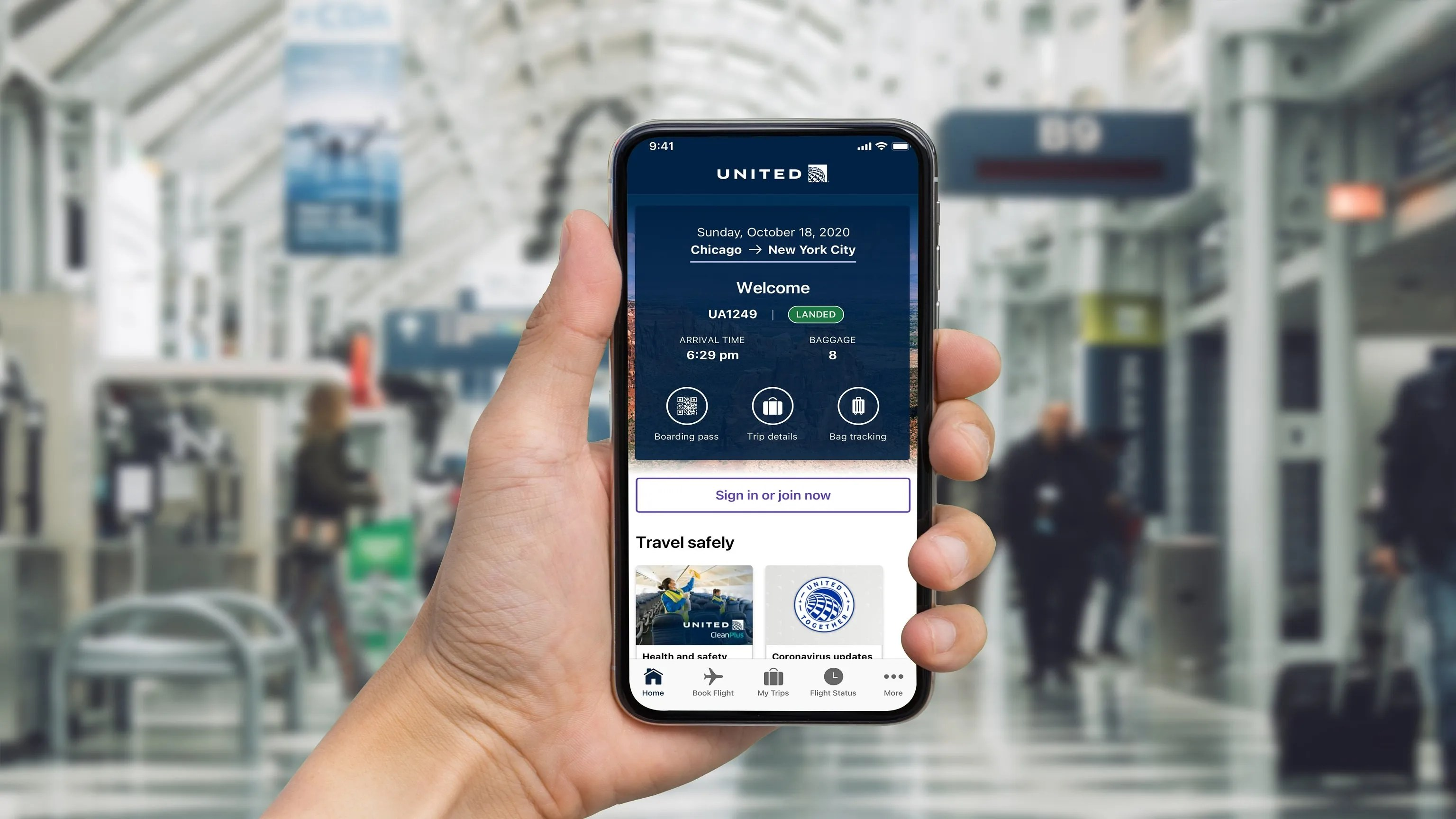 , United Airlines Redesigns Mobile App to be More Accessible for People with Visual Disabilities, For Immediate Release | Official News Wire for the Travel Industry