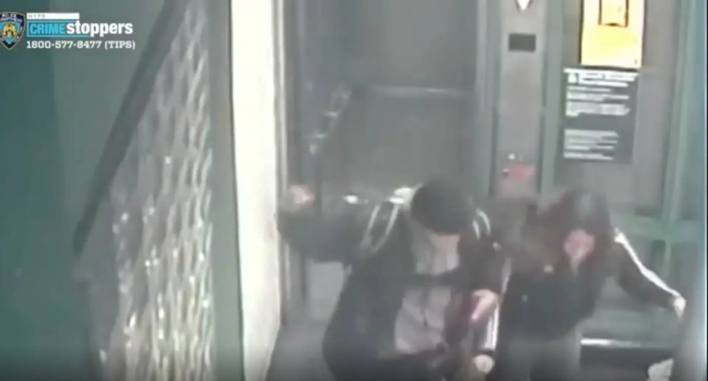 WATCH:Video shows brutal attack on older woman who asked a young couple to put on masks before joining her in elevator