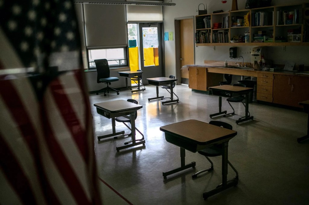 Teacher union leader says 'white supremacy' fuels reopening efforts, concerns over lockdown suicides are 'white privilege'