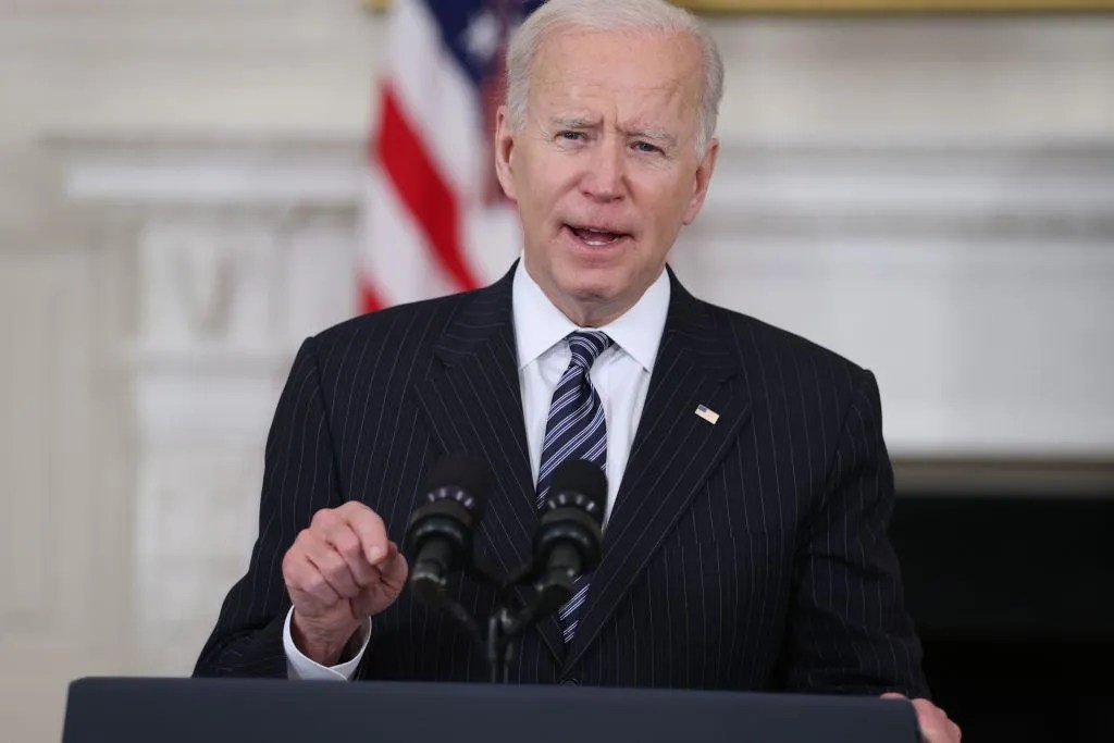 Biden warns Georgia to 'smarten up' and 'stop it' or risk losing more woke businesses over voting law