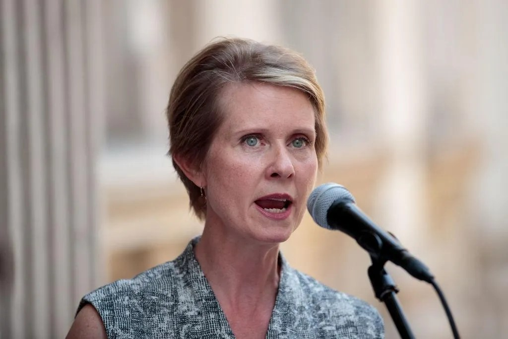 Cynthia Nixon gets crushed for saying shoplifters shouldn't be arrested