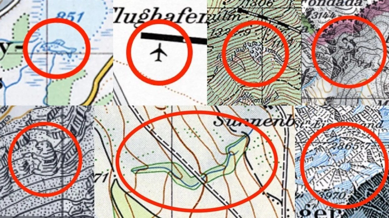 Why Swiss maps are full of hidden secrets