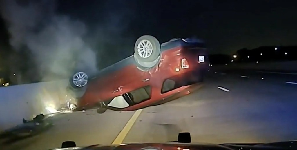 State police sued after pregnant woman's car flips following what she says was an unnecessary PIT maneuver