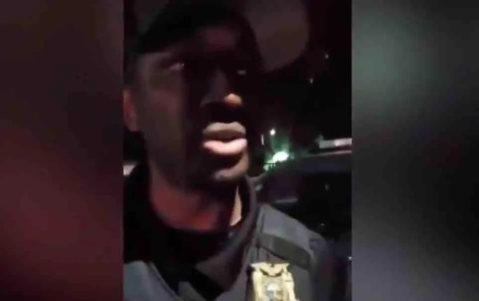 WATCH: 'Everyone of your color hates you!': Leftist militants curse out, berate black Portland cop on camera