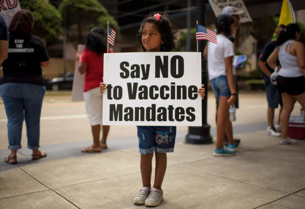 Poll finds majorities of unvaccinated Americans won't be persuaded to get jabbed by celebrities, door-to-door volunteers, or easy availability