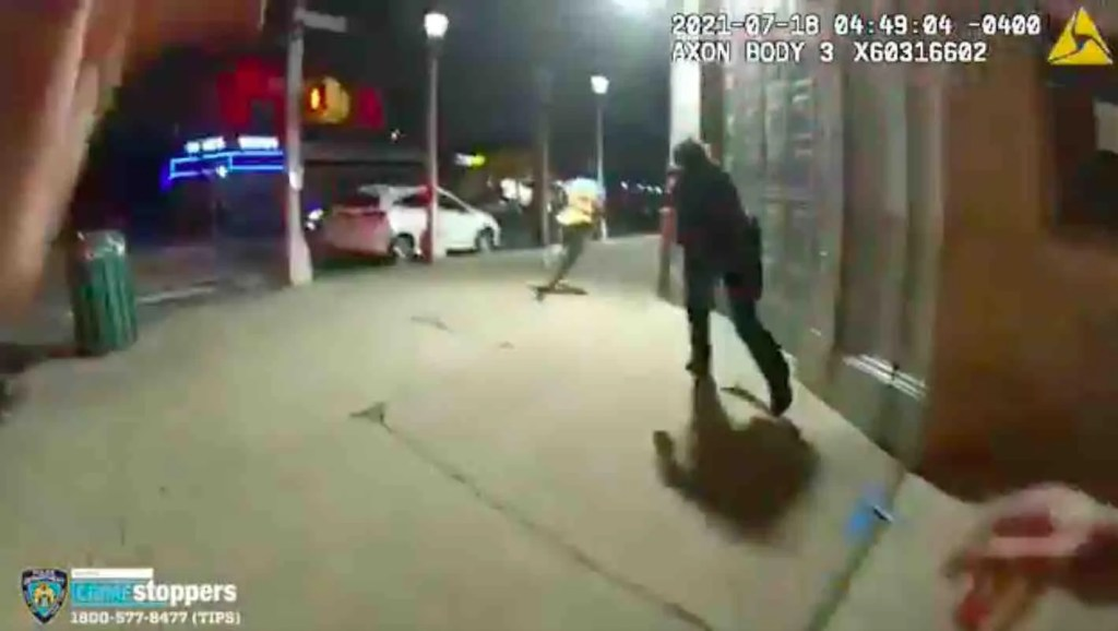 WATCH: Thug smashes glass bottle on NYPD officer's head in unprovoked attack caught on bodycam video; suspect was arrested twice previously for assaulting cops