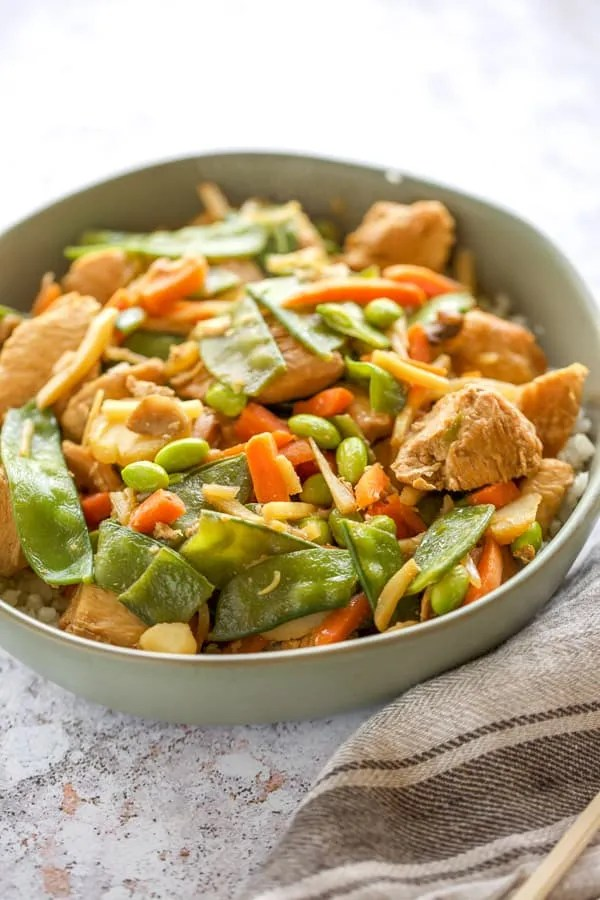 Instant Pot Chicken Stir Fry (Using Frozen Vegetables ...