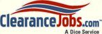 The Clearance Jobs logo