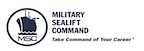 The Military Sealift Command logo