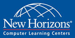 The New Horizons Computer Learning Centers logo