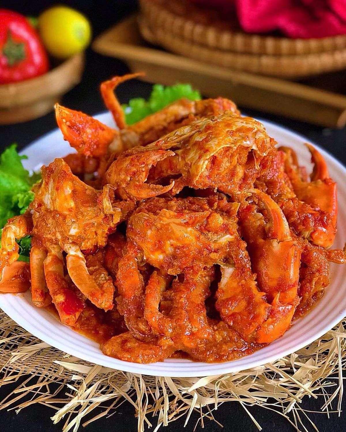 Cara Memasak Kepiting Pedas : memasak, kepiting, pedas, Resep, Kepiting, Pedas, Manis, Resepedia
