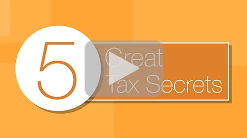 Five Great Tax Secrets