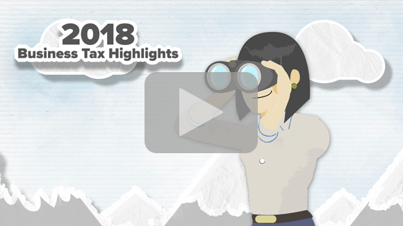 2018 Business Tax Highlights