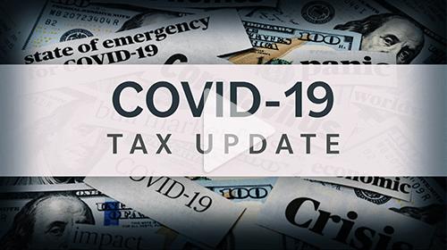 COVID-19 Tax Update