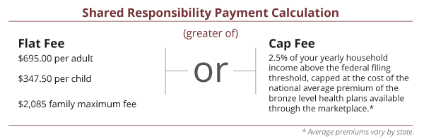 Shared Responsibility Payment Calculation