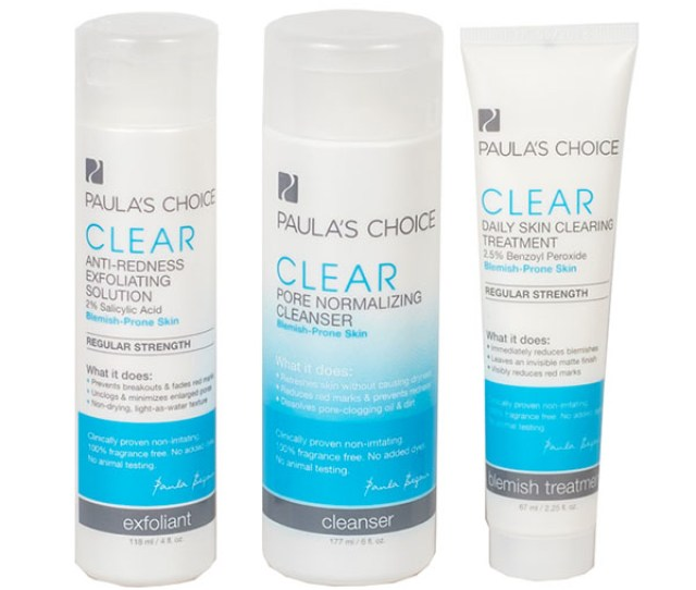 Paulas Choice Clear Regular Strength System
