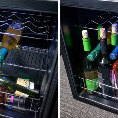 Tall Kitchen Garbage Can Cutting Block Table The Best Wine Coolers For 2018 | Reviews.com