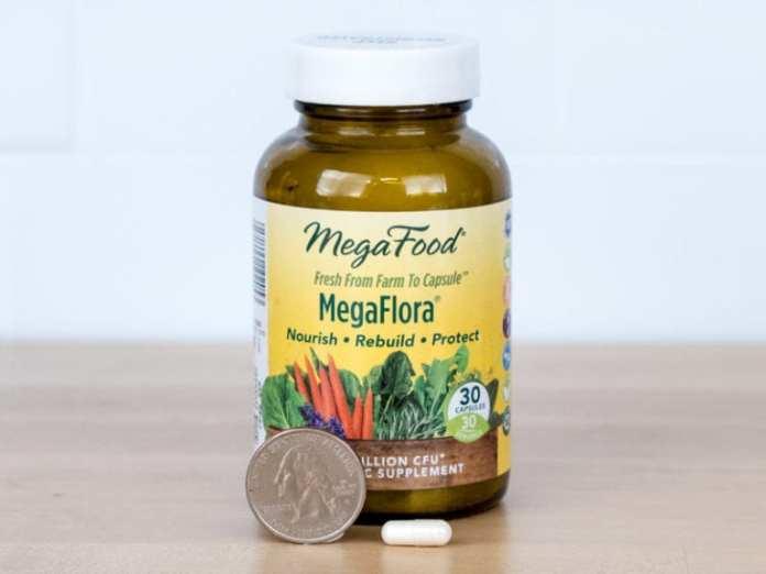 MegaFood Close-up for Probiotic Supplement