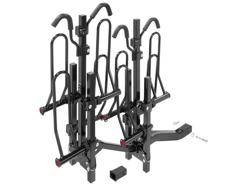 Pro Series 63138 Pro Series Q-Slot 2™ 4-Bike Hitch Mounted