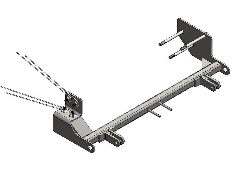 Blue Ox BX1120-30 Blue Ox Acclaim™ Tow Bar & Baseplate