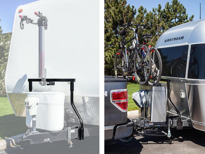 trailer tongue bike carrier