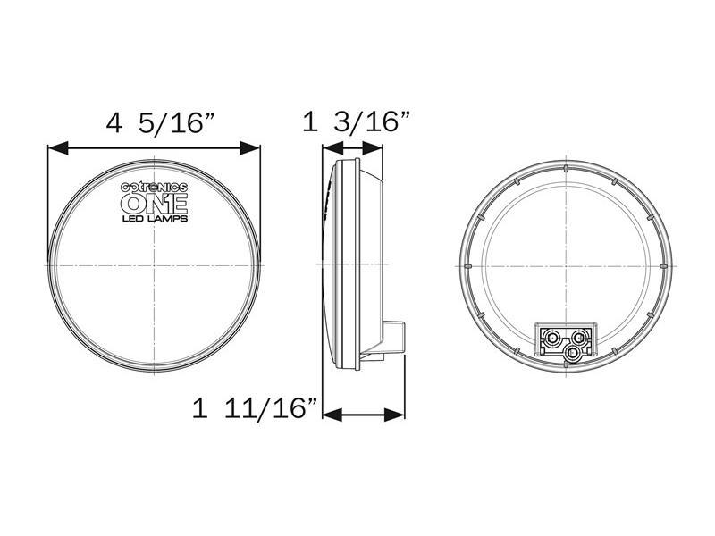 Optronics STL003RB ONE™ LED 4