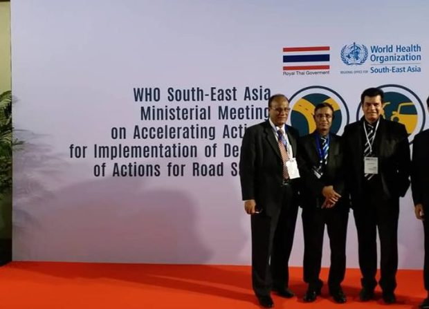 ilias kanchan in WHO SEA meeting in Thiland phuket