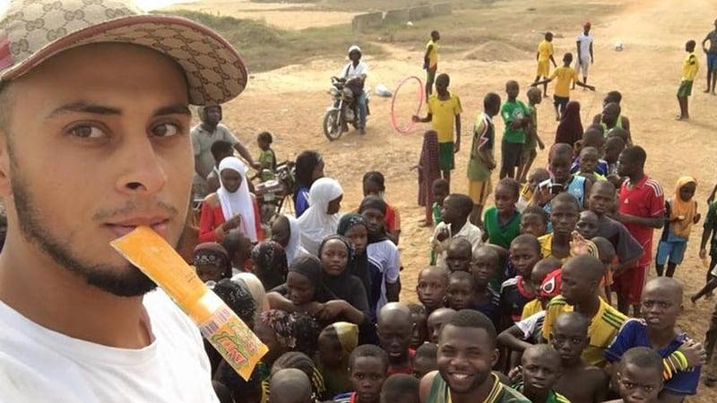 ali banat in Africa matw project