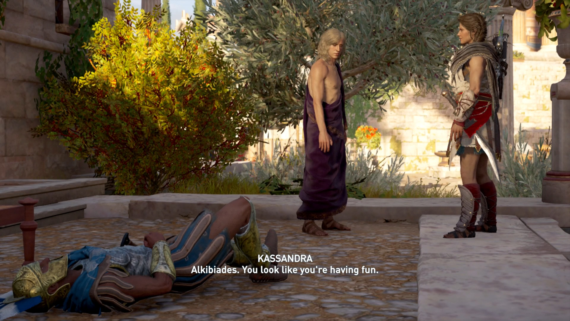 Assassins Creed Odyssey Alkibiades How To Complete The