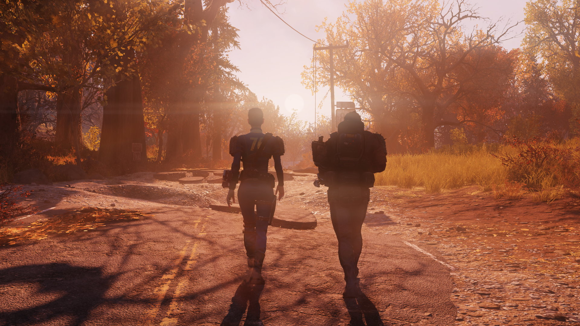 Fallout 76 Beta Finding Life And Mothmans Butt In The Wilderness Rock Paper Shotgun