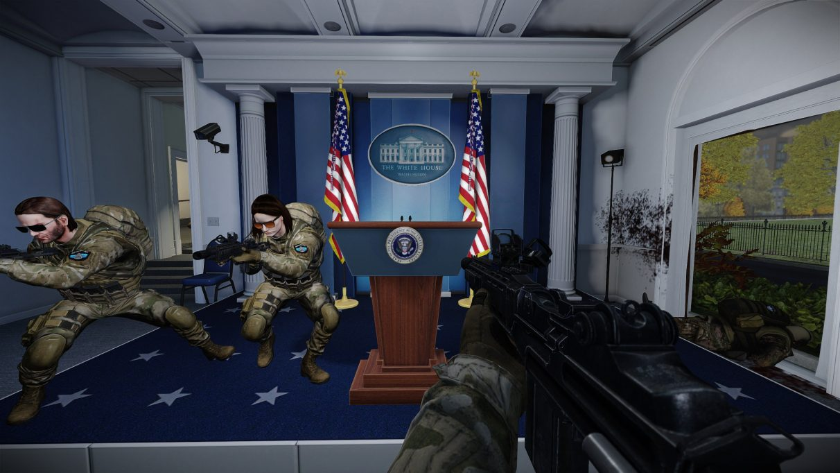 Payday 2 adds White House heist in free update  Rock