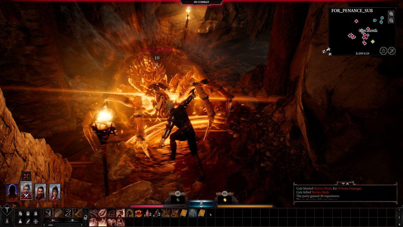 How big is Baldur's Gate 3?