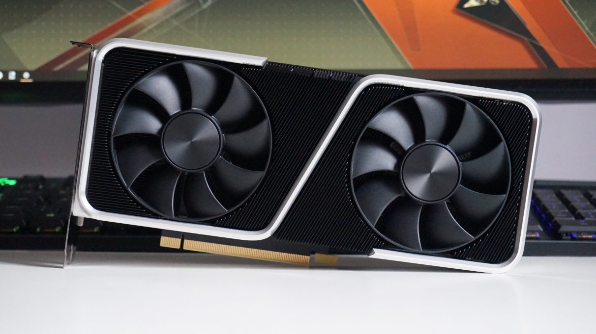 A photo of Nvidia GeForce RTX 3060 Ti Founders Edition
