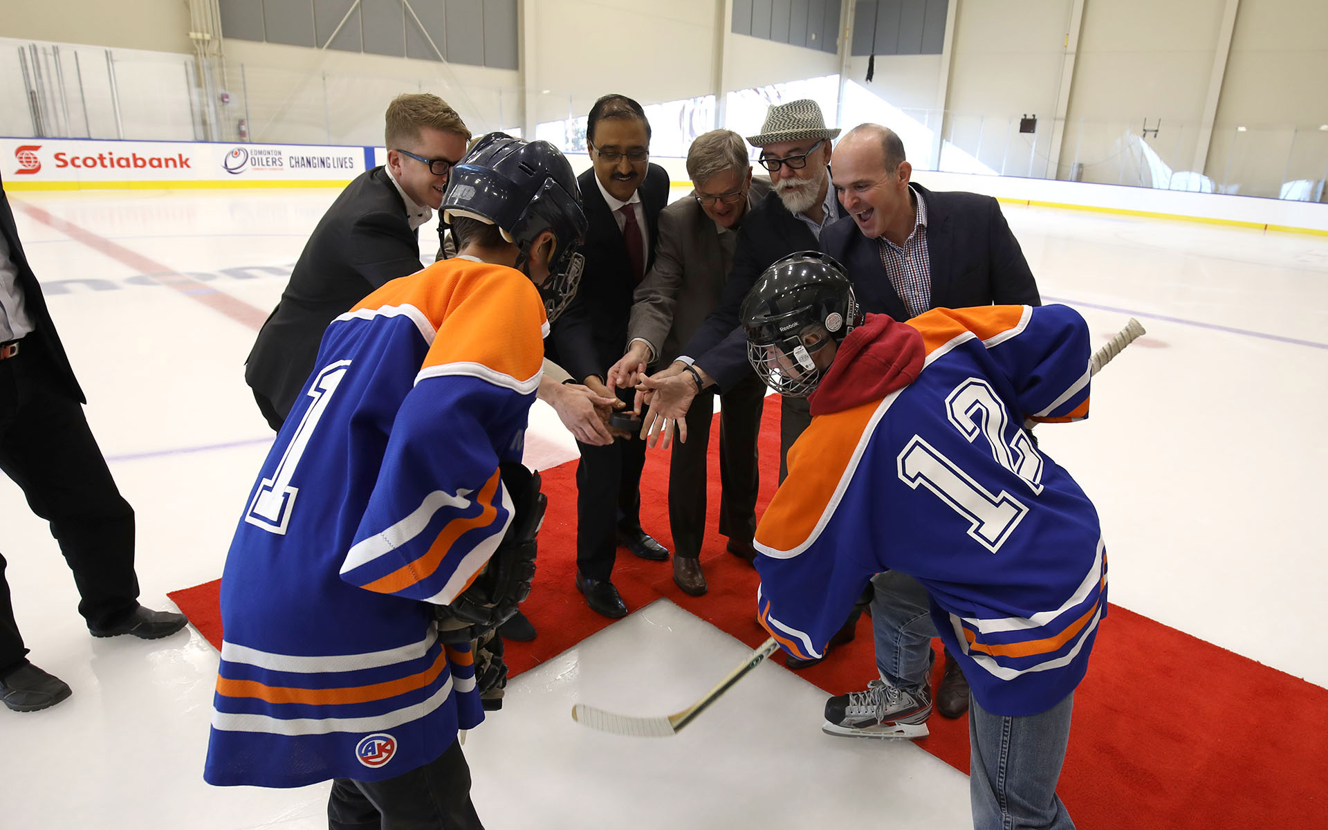 Excitement Surrounds Grand Opening Of Downtown Community Arena