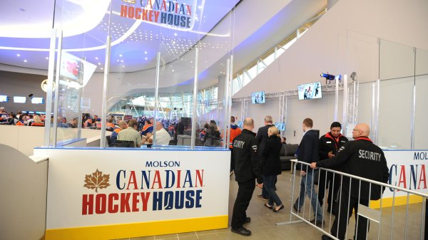Molson Canadian Hockey House Rogers Place