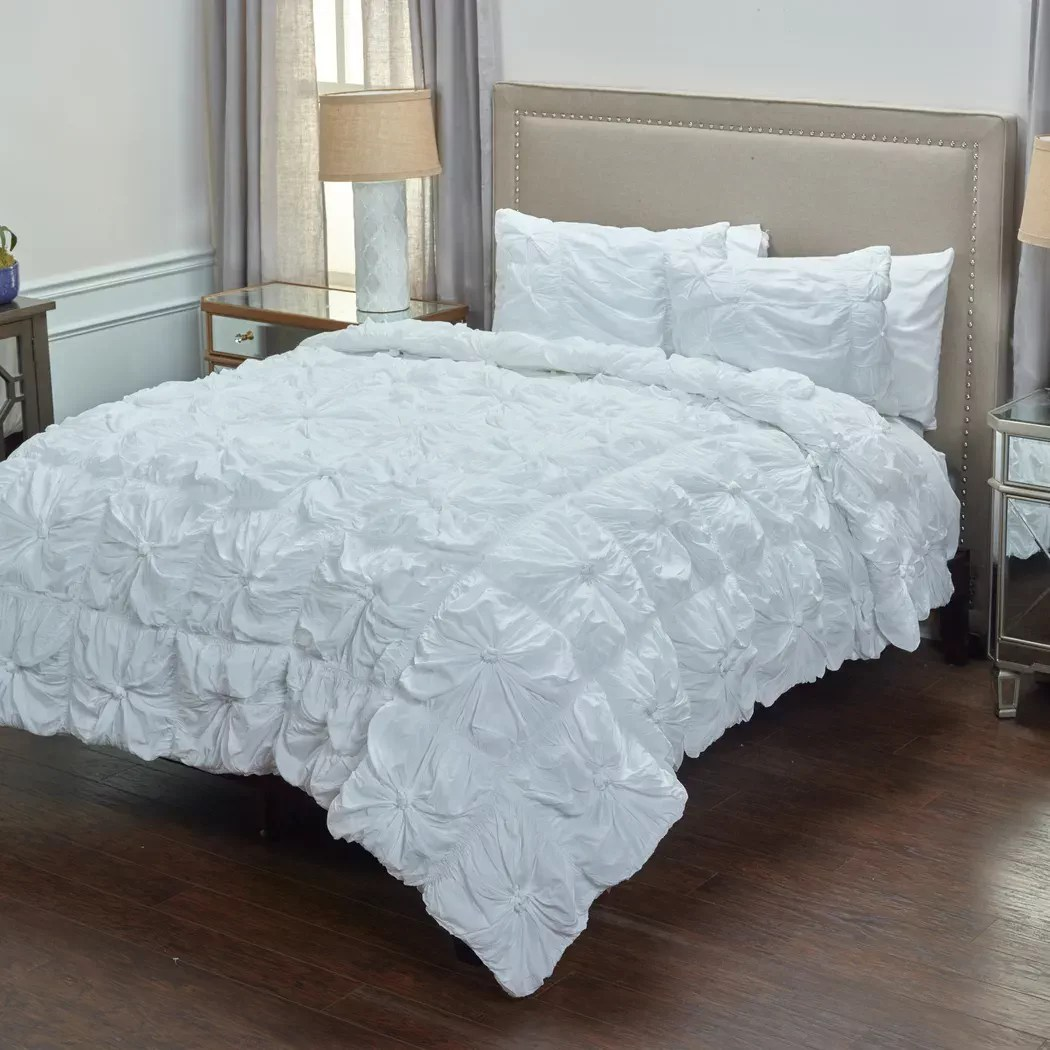 white king size comforter sets get a