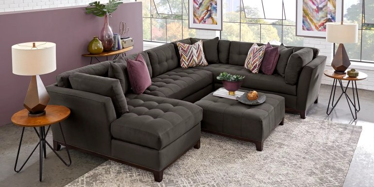 cindy crawford sectional sofas