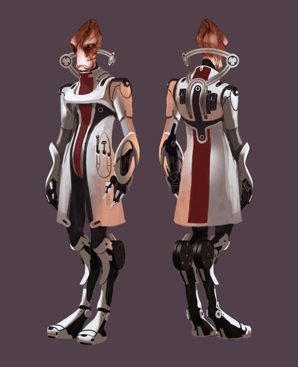Mass Effect Character Concept Art Imgurl
