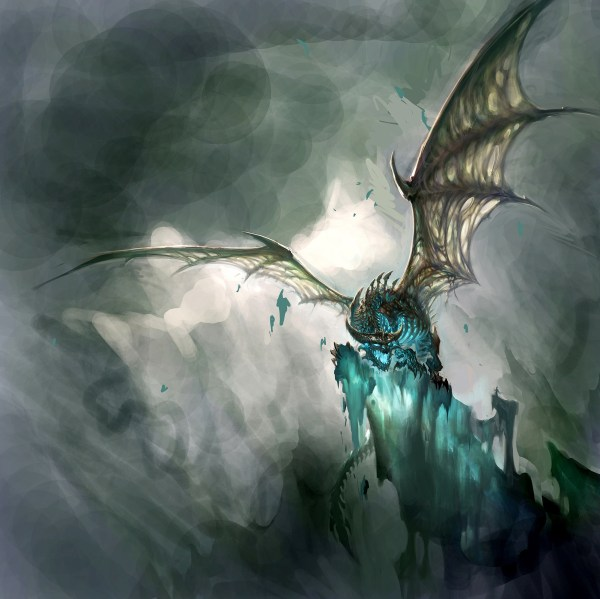 World of Warcraft Lich King Dragon