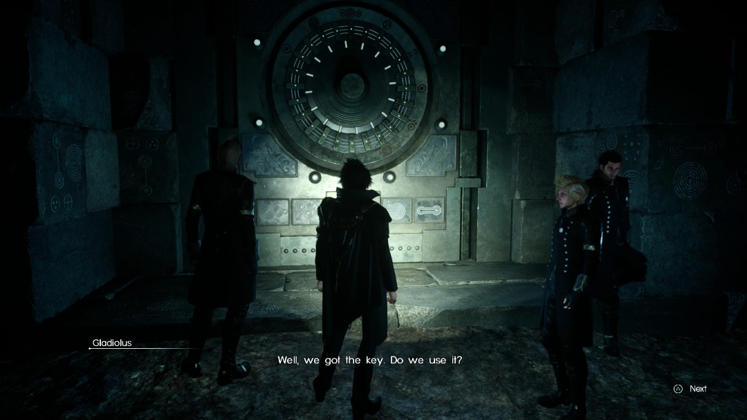 Final Fantasy XV Guide How To Unlock The Sealed Doors Inside Dungeons RPG Site