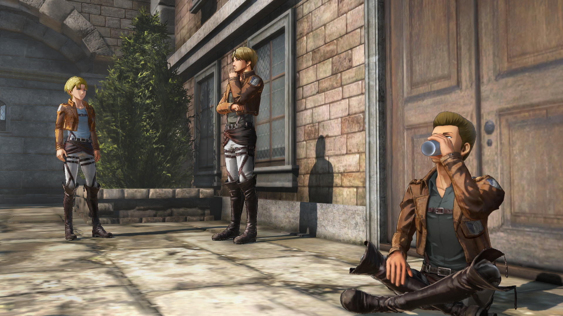 Attack On Titan Before The Fall Wallpaper Attack On Titan 2 Screenshots Introduce Characters And