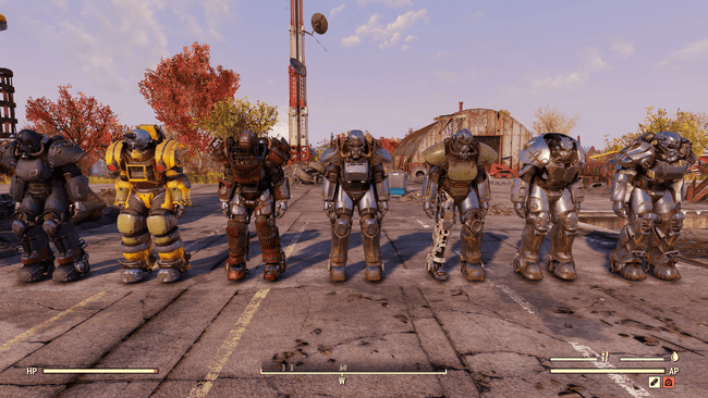 Fallout 76 Power Armor Guide Where To Find All Power